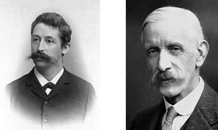 写真左:エイクマン氏、右:ホプキンス氏